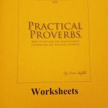 YNG KJV Worksheet cover